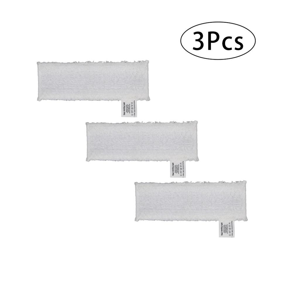 3pcs Mop Cloth Floor Pads Kit For Karcher SC2 SC3 SC4 SC5 Easyfix Steam Cleaner