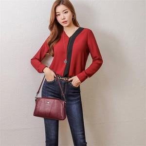Image 2 - Crossbody Bags For Women 2019 Sac a Main Soft Leather Shoulder Messenger Bags Female Vintage Handbag High Quality Bolsa Feminina