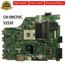 CN-0WCP0C 0WCP0C WCP0C FOR DELL VOSTRO 2520 V2520 Laptop motherboard SLJ8F DV15 11280-1 MXRD2 mainboard