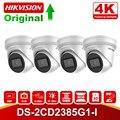 4 шт./лот Оригинал Hikvision 8MP PoE IP камера DS-2CD2385G1-I Oudoor CCTV 4 к ИК сети револьверная камера Micro SD слот H.265 + P2P