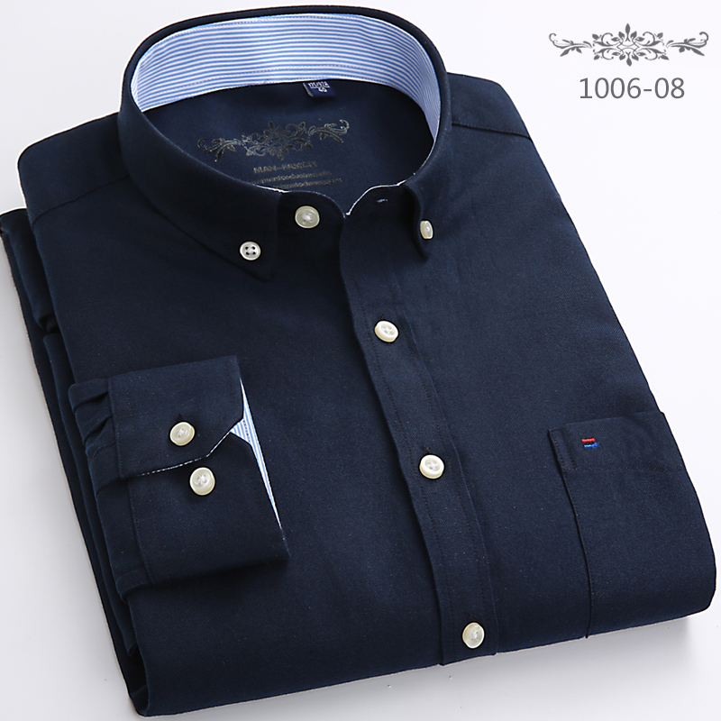 2020 Factory Sale High Quality Easy Care New Plus Size Long Sleeve Striped Men Dress Shirts 4xl Regular Fit