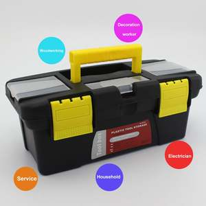 Car-Storage-Box Toolbox Hardware Plastic Portable Multifunction Household Maintenance