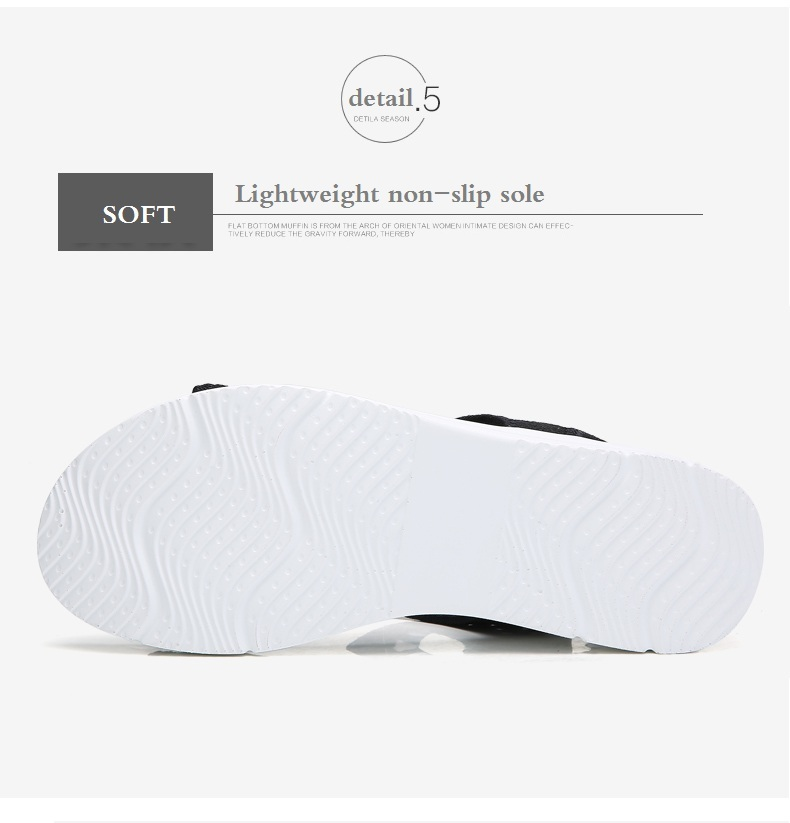 H3ec54b0e4d3e4f5da9b2ac37ea122713w WDZKN 2019 Sandals Women Summer Shoes Peep Toe Casual Flat Sandals Ladies Breathable Air Mesh Women Platform Sandals Sandalias