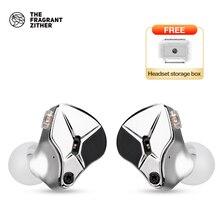 Casque stéréo à cavité métallique pour écouteurs filaires TFZ HIFI dans loreille, écouteurs à isolation phonique à réglage en Mode KING EDITION
