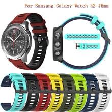Correa de silicona para Samsung Galaxy Watch Active2, 46mm, 42mm Gear S3, Correa clásica y Frontier, pulsera