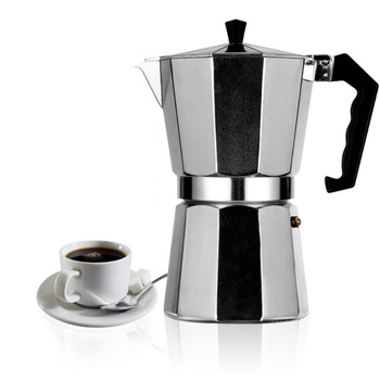 Italian Moka Espresso Coffeeware Mocha Latte Aluminum Coffee Maker Percolator Pot 100/200/300/450/600ML Stovetop Coffee Machine 1