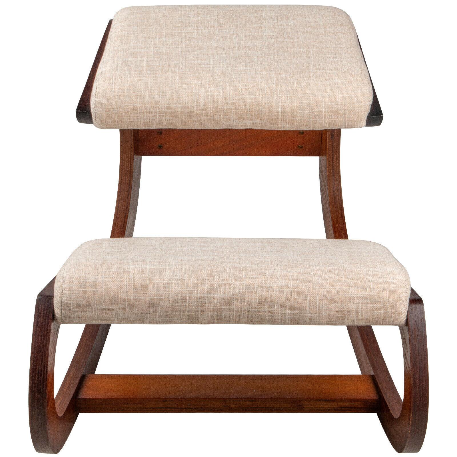 220LB Ergonomic Kneeling Chair Load Capacity Kneeling Posture Desk Chair Stool with Hip Cushion Kneeling Ergonomic Stool