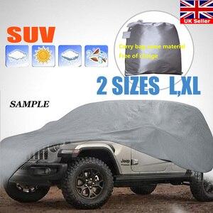 Image 1 - רכב כיסוי L/XL גודל SUV מלא רכב מכסה שלג קרח שמש גשם עמיד הגנה עמיד למים Dustproof חיצוני מקורה dfdf