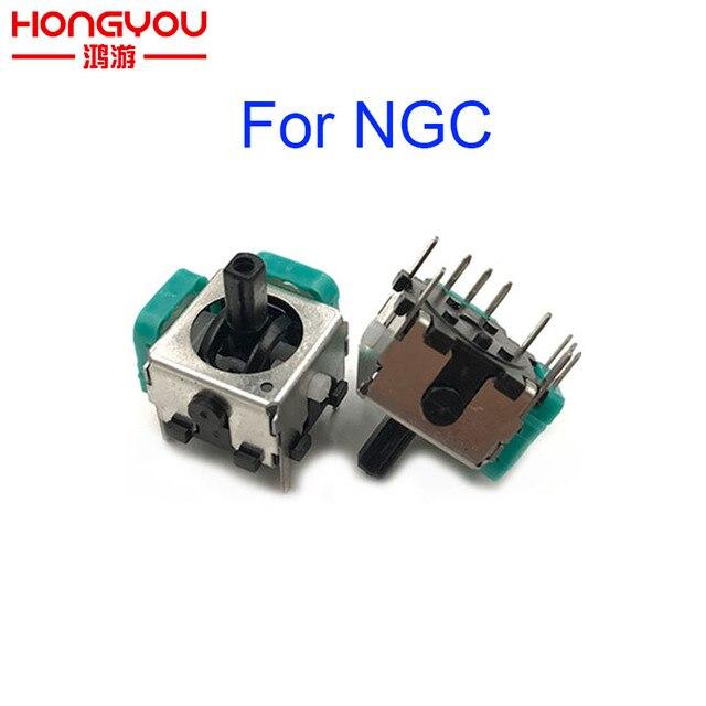 20Pcs Replacement 3D Analog Joystick for NGC GameCube Controller Repair Parts