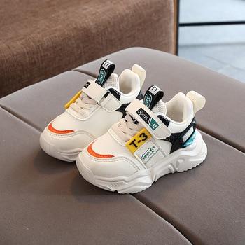 цена 2020 New high quality children casual shoes hot sales soft Spring/Autumn baby girls boys shoes fashion kids sneakers tenis онлайн в 2017 году