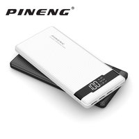 Original PINENG Mobile Phone Power Bank PN 962 20000mAh Portable Li Polymer Battery LED Indicator 2 USB Quick Charger 5V 3