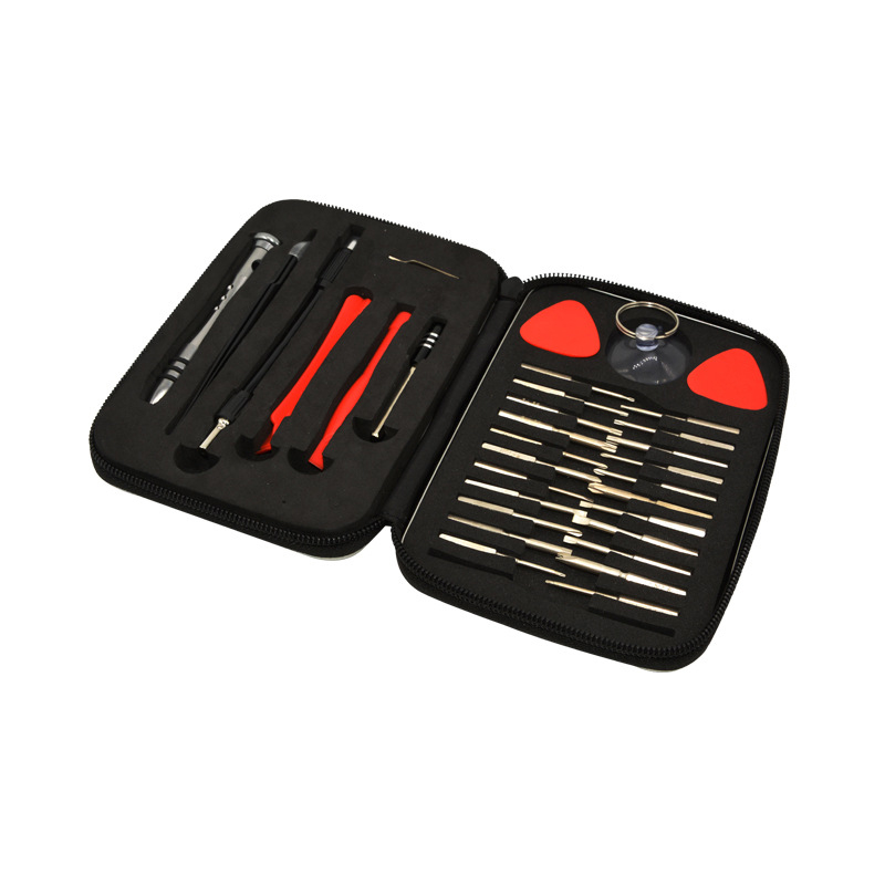 32 In 1 Mobile Phone Disassembly Repairing Tool Kit 32PCS Alloy Cell Phone Repair Tool Set For IPhone 11 Pro For Samsung PC