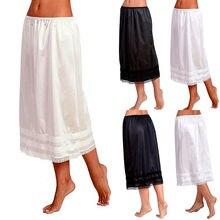 Petticoat Underskirt Smooth-Skirt Womens Lace Oversize New-Fashion