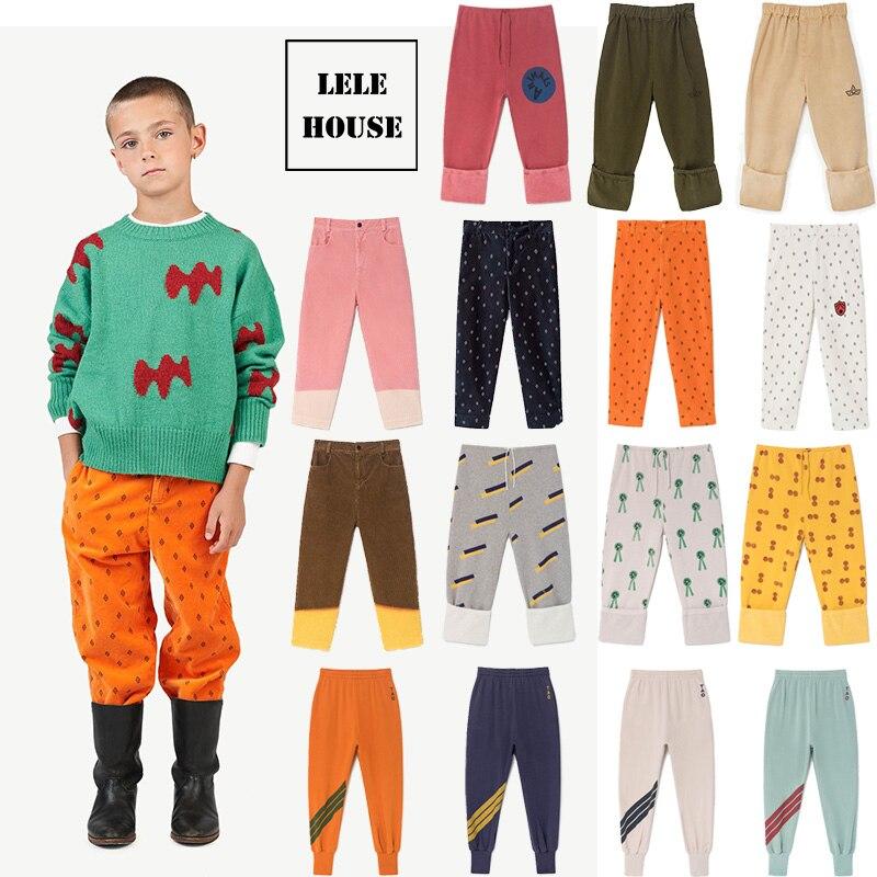 Pre-verkauf LELEHOUS-TAO 2019 Neue Herbst Baby Mädchen Kleidung Winter Kleinkind Herbst Hosen Mädchen Leggings Kinder Kinder Jungen Hosen 18M-10Y