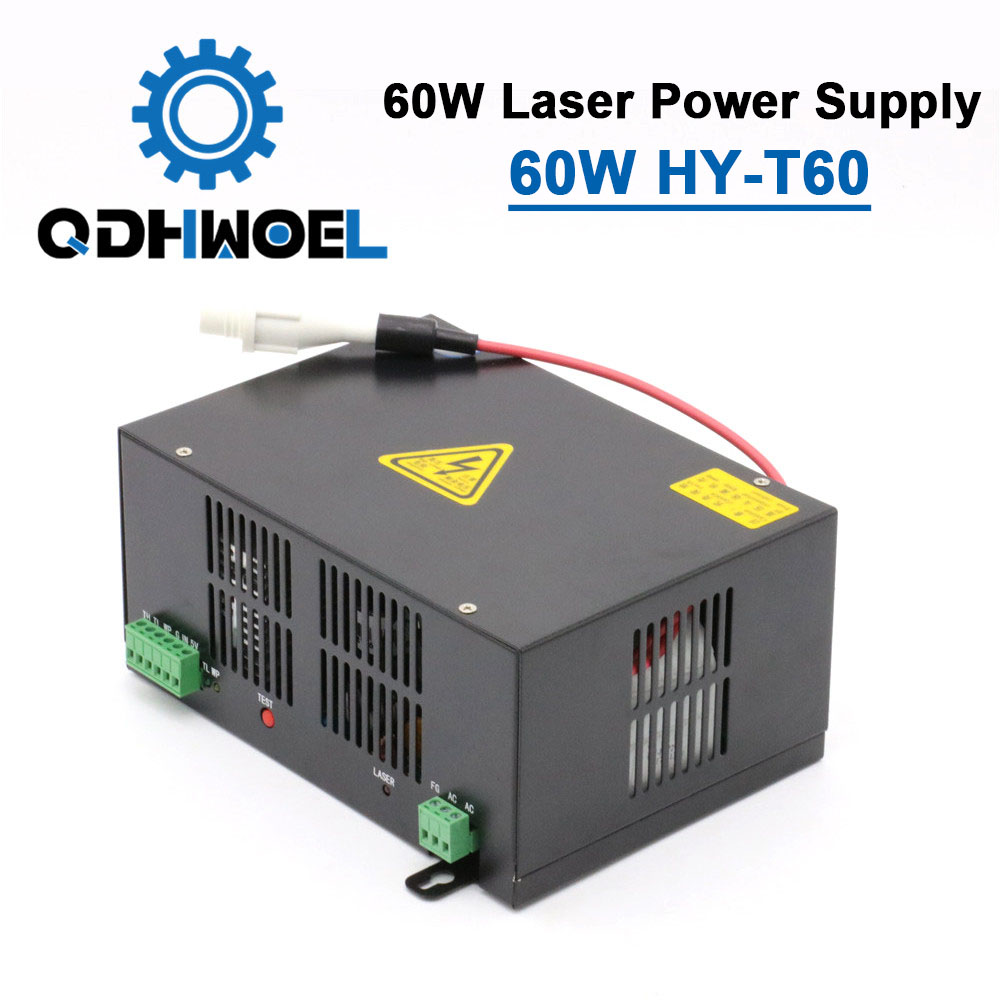 60W Laser Power Supply For CO2 Laser Engraving And Cutting Machine