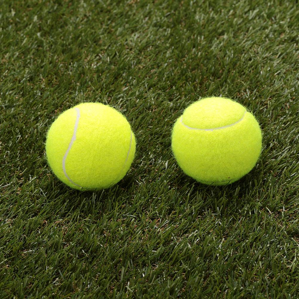 Tennis Ball Level A Outdoor Sports Exercise Training Learning Vanilla Green