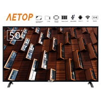 free shipping Hot sale 50 inch explosion proof android tv hd flat screen led television smart tv 4k with remote control