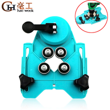 Adjustable 4-83mm Diamond Opening Drill Bit Tile Glass Hole Locator Saw Core Bit Guide Chuck Positioner With Vacuum Base Sucker