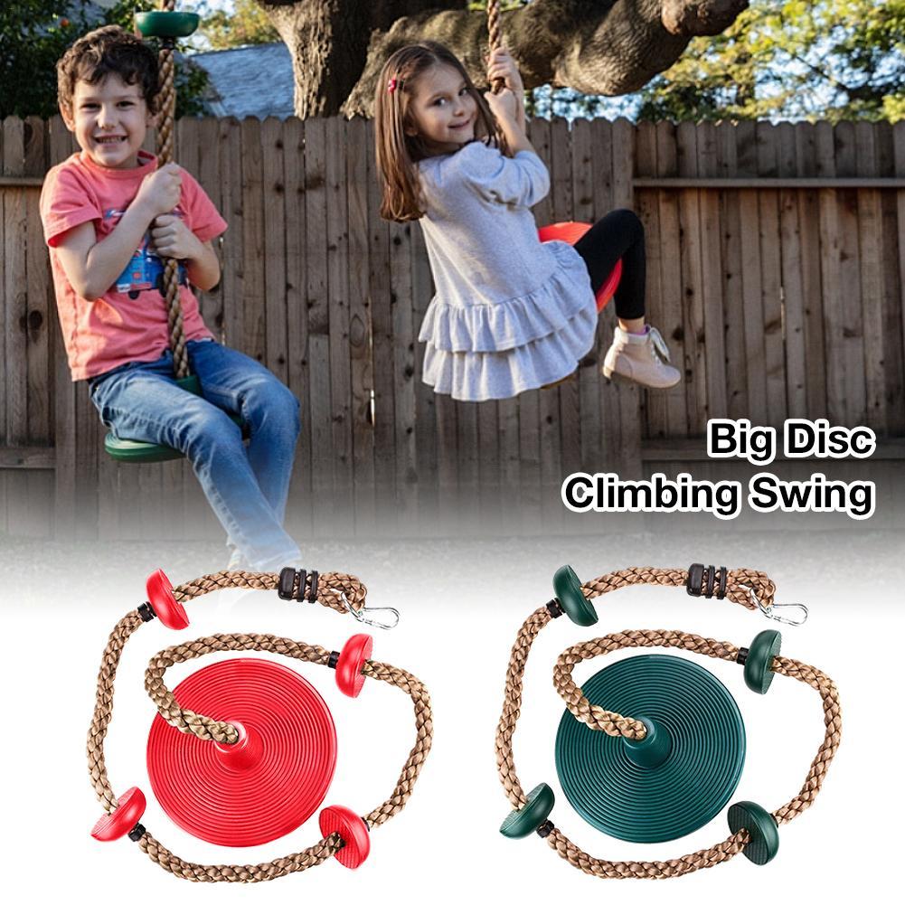 Детская скалолазающая Поворотная веревка с диском, игрушка для игр на открытом воздухе, веревка для физических тренировок, аксессуары, обор...