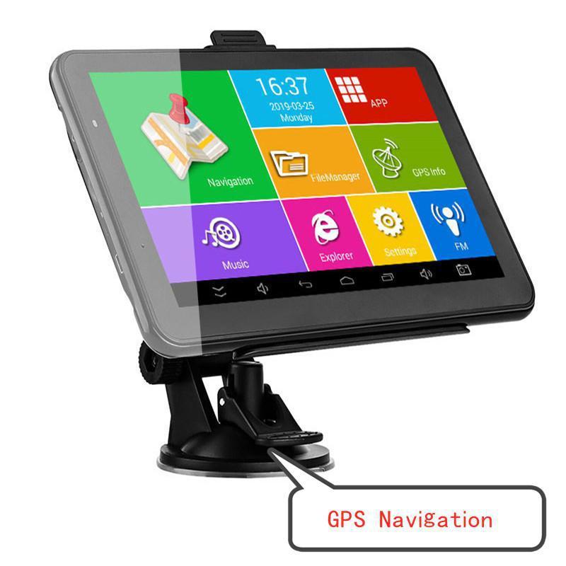 Tragbare 7 inch Auto GPS Navigation 256M + 8GB Auto elektronik zubehör
