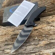 ZT 0095 titanium alloy handle Hiking knife S90V blade 59 Hardness CNC precision machining Screws