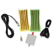 Hafif küçük uzun LW1650 taşınabilir kısa dalga anten 1.6 ila 50 MHz SMA/BNC