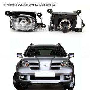 Image 2 - 1Pcsด้านหน้าหมอกDRLไฟวิ่งกลางวันสำหรับMitsubishi Outlander 2003 2004 2005 2006 2007หลอดไฟฮาโลเจนด้านหน้ากันชนโคมไฟ