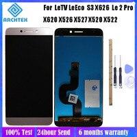 Tela lcd de 5.5 polegadas para original letv  tela de reposição para leeco le s3 x626 x620 x622 x522 x532 x520 x526 peças de montagem do digitalizador