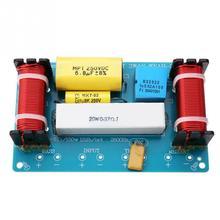 Divisor de freqüência alto falante fase acessórios diy ferramenta para alto falante casa substituição filtro crossover 3 vias áudio prático