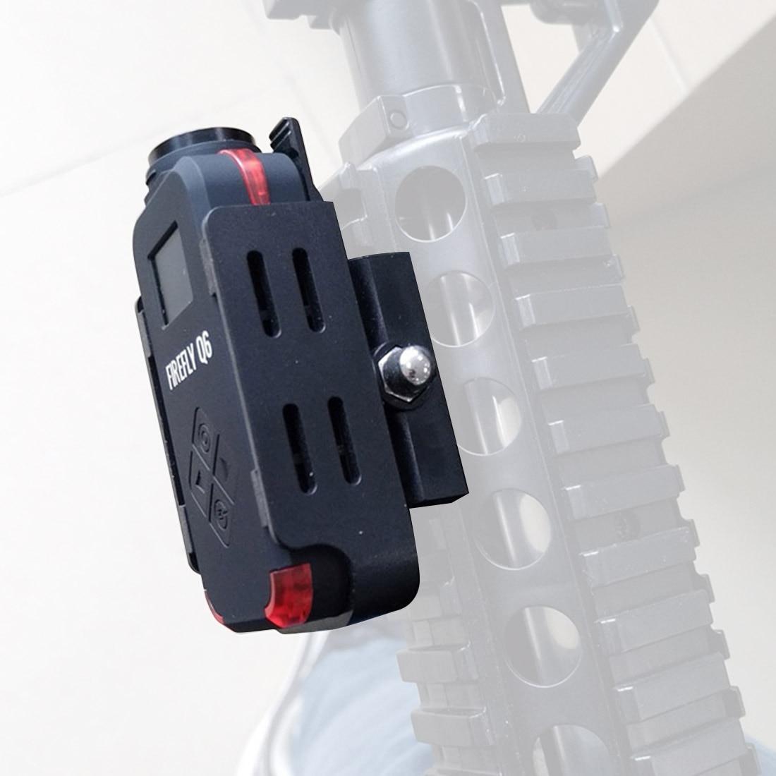 Oyuncaklar ve Hobi Ürünleri'ten Parçalar ve Aksesuarlar'de Hawkeye FIREFLY Q6 Airsoft 1080 P/4 K HD çok fonksiyonlu spor kamera eylem kamera FPV Racer için parça yarış Drone title=