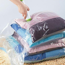 Vacuum-Bag Clothes-Storage-Bag Packet for with Transparent Border Folding Compressed-Organizer