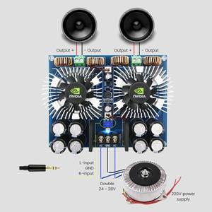Image 4 - Aiyima TDA8954TH Bộ Khuếch Đại Âm Thanh Kỹ Thuật Số Tàu Lớp Sau Công Nguyên Amplificador 420Wx2 Stereo Amp BTL Bộ Khuếch Đại Điện Cho Gia Đình