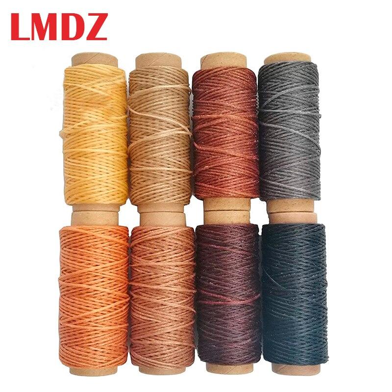 Вощеная нить для шитья кожи LMDZ, 8 цветов, 50 м, 150D, 1 мм