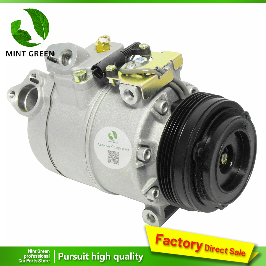 Para BMW X5 Compressor AC 2003 2004 2005 2006 98444 64526918000 11197444 5512344 6512344 CO 10837C 40289C 2021583R 10363080