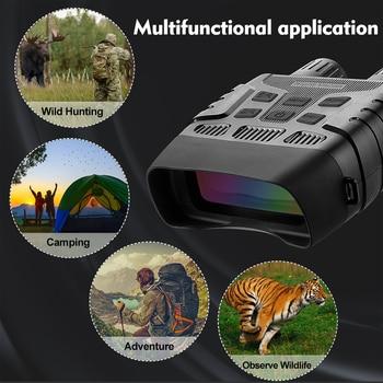 Super Quality Night Vision Binoculars for Hunting Traveling Fishing IR Monocular Camera Security Telescope 300M 32G HD Binocular 5