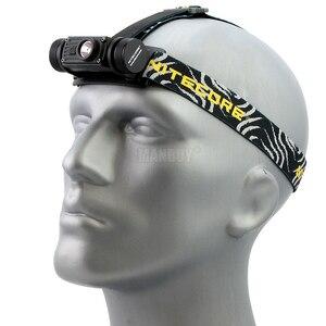 Image 2 - NITECORE HC60 HC60W USB Rechargeable Headlamp CREE XM L2 U2 1000 Lumens Camping Headlight + 3400mAh 18650 Battery Free Shipping