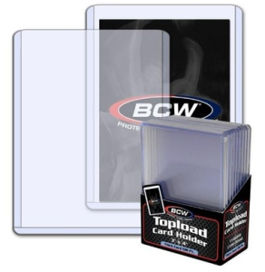 BCW high quality transparent collection card holder suitable for Yugioh WS size