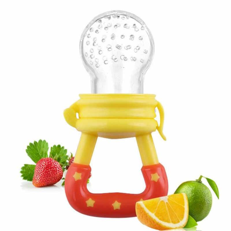 Chupete fruta,1 Pieza Mordedor beb/é con Cucharas de Alimentaci/ón para beb/és 3 Pieza Funda de Silicona de repuesto 9 Piezas en Total