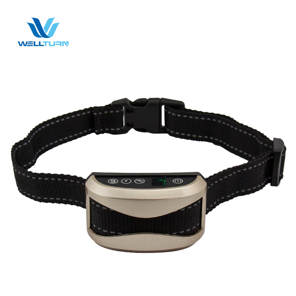 Exquisite Appearance Chargeable LCD Automatic Zhi Fei Qi Dog Stop Call Maker Anti-Dog Pet Collar
