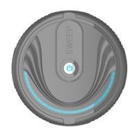 Aspiradora inteligente automática  Robot barredora de suelos  herramientas de limpieza para el hogar  recogedor de polvo  escoba  barredora  soporte para batería 3xAA|Escobas de mano| |  -