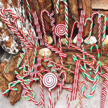 Christmas-Gift Candy Cane Good Plastic Colorful New-Year Crutches Bigger