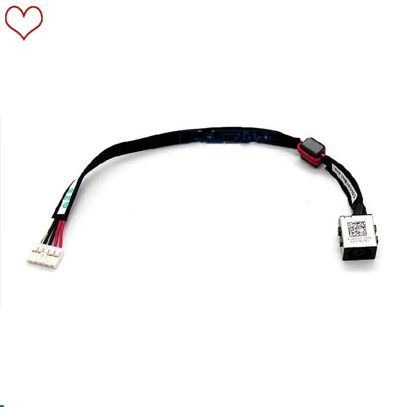 Новый блок питания постоянного тока для ноутбука, кабель, разъем для зарядки, разъем, провод, шнур для DELL 5000 серии 15-5545 15 5547