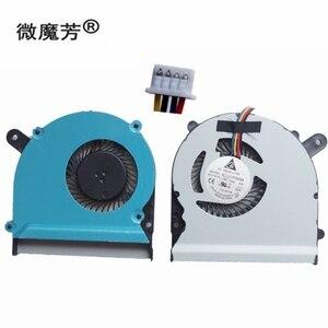 Новый вентилятор для процессора ноутбука для ASUS S400 S400C S400CA S400E X402C X402E F402C X502C Тетрадь компьютер процессорный кулер