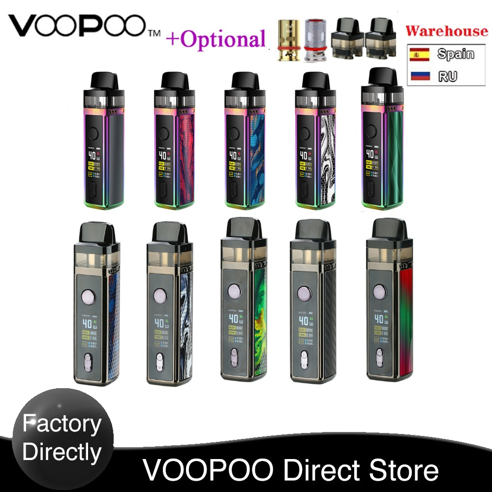 Original VOOPOO VINCI Mod Pod Vape Kit With1500mAh Battery & 5.5ml Pod & 0.96 Inch TFT Color Screen Vape Kit Vs Vinci X / Drag 2