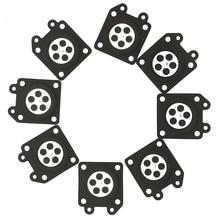 Карбюратор замер сборка диафрагмы комплект для Walbro 95-526 95-526-9 95-526-9-8 диафрагмы автомобильные аксессуары Резина