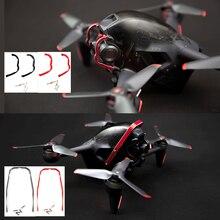 Drone üst koruma çubuğu Gimbal tampon DJI FPV Combo alüminyum alaşım tampon koruma koruyucu aksesuarları kitleri Drone aksesuar