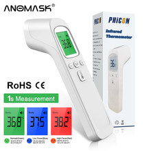 Termômetro infravermelho da testa do laser do não-contato do termómetro médico de digitas para cuidados de saúde do escritório doméstico do adulto e do bebê