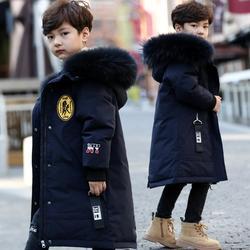 Ropa para bebés, chaquetas de pato para niños, Parkas gruesas y cálidas para niños, chaquetas de invierno para niños Y2611