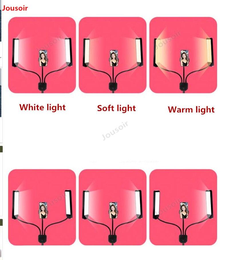 60W LED lumière photographique Stepless gradation maquillage beauté lumière sourcil tatouage lampe Studio vidéo lumière avec trépied CD50 T03 - 3
