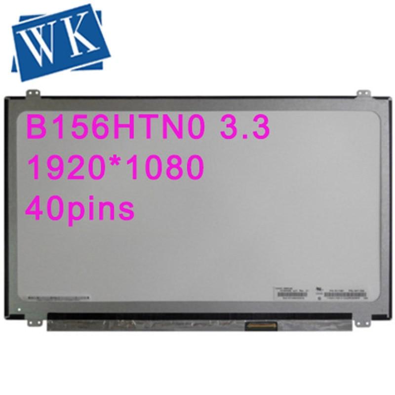 15.6LED B156HTN03.3 B156HW03 N156HGE-LA1 N156HGE-LB1 B156HTN02 B156HTN03 LED Display Laptop Screen 40pins